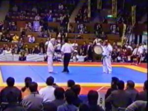 Первый бой на ЧМ по кудо 2001