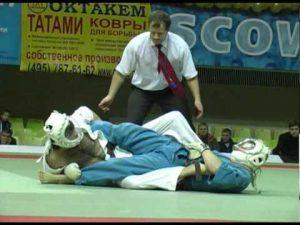 2 бой Игоря Чивирева на чемпионате России 2010 по кудо
