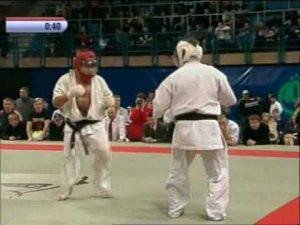 Чемпионат России по кудо-2005. Третий бой