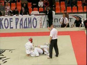 Чемпионат России по кудо-2005. Второй бой