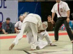 Чемпионат России по кудо-2005. Первый бой