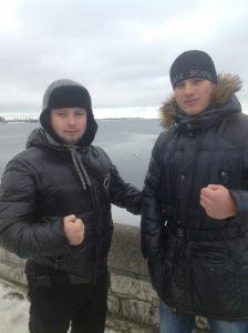 Поездка в Эстонию на бой Сергей Минакова. Февраль 2013